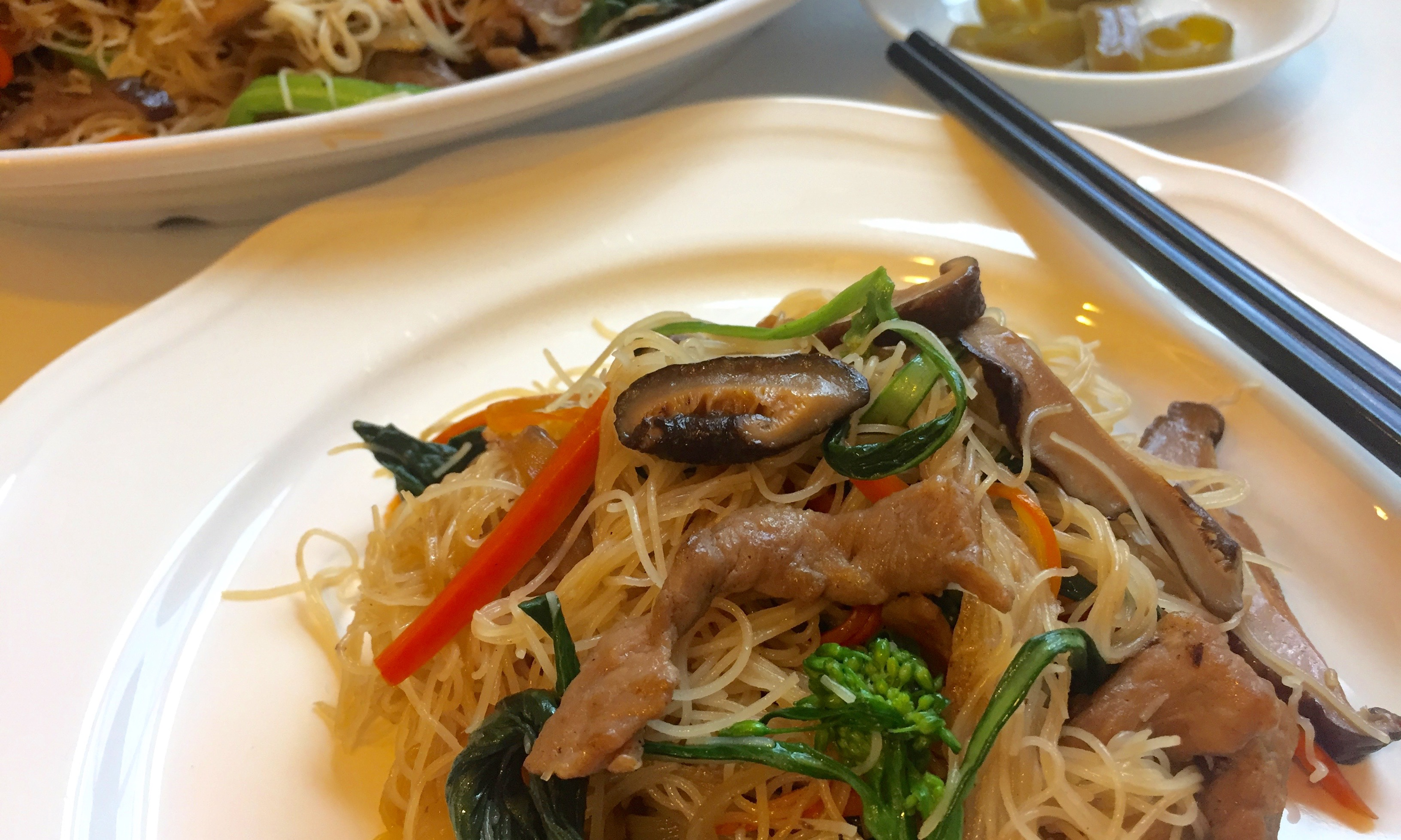 how to make rice vermicelli stir fry